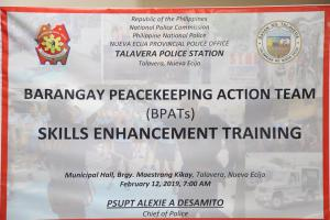 BFATs Skills Enhancement Training