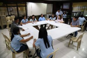 Local Public Transport Route Plan Meeting at Mayor's Office Talavera, Nueva Ecija
